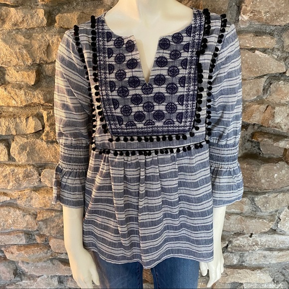 Blue Rain Tops - Blue Rain Top Size Medium